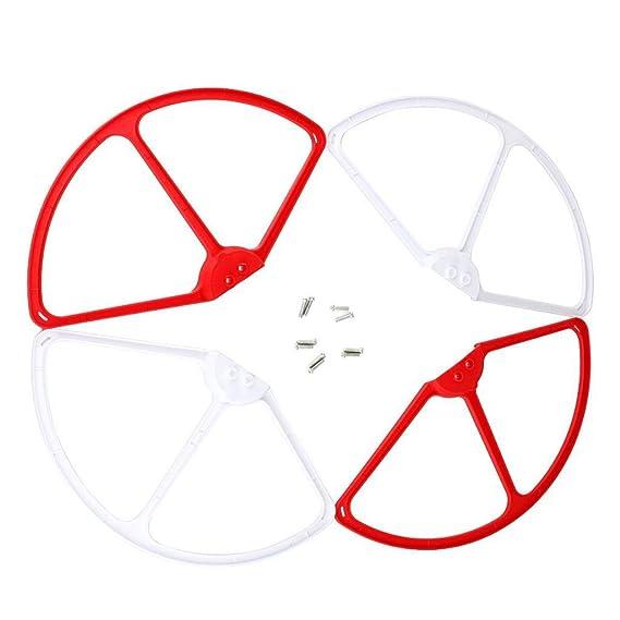 Gazechimp 4 Piezas RC Quadcopter Accesorio Drone Hélice de Lámina ...