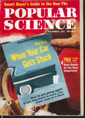 POPULAR SCIENCE Glove Compartment Booklet TV Buying Guide Toasters 12 1960
