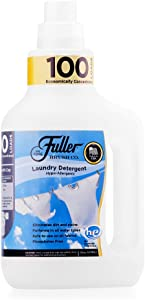 Fuller Brush 100 Laundry Detergent - Hypoallergenic, Unscented & Dye Fre e Clothe Washing Formula for Washing Infant/Baby Clothing - Mild Cloth Cleaning Products for All Skin Types