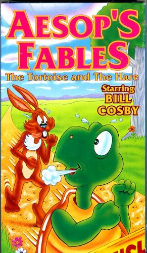 Amazon.com: Hare and the Tortoise/Vain Crow [VHS]: Aesops Fables ...
