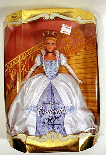 50th Disney Anniversary - Disney's 50th Anniversary Collector Doll Cinderella