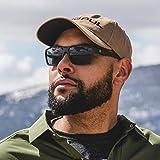 Magpul Explorer Sunglasses, Matte Black Frame, Gray Lens