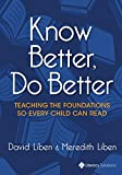 Know Better, Do Better: Teaching the Foundations So