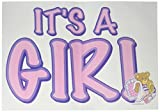 It's A Girl Auto-Clings Party Accessory (1 count) (5/Pkg)