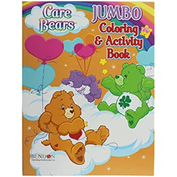Amazon.com: Care Bears Coloring and Activity Book (Assorted ...