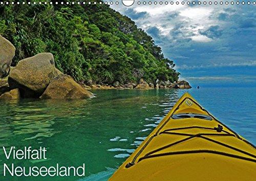 Vielfalt Neuseeland (Wandkalender 2018 DIN A3 quer): Reichtümer der Natur Aotearoas - dem Land der langen weißen Wolke (Monatskalender, 14 Seiten ) ... [Kalender] [Apr 01, 2017] Schaefer, Nico
