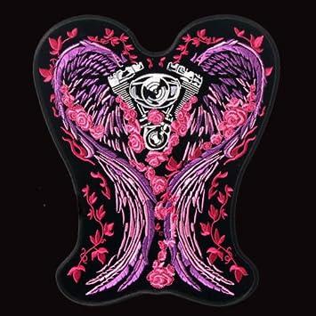 Amazon. Com: hot leathers, ladies asphalt angel, high thread.