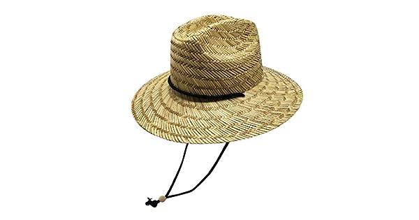 Amazon.com: Copercn - Juego de sombrero de paja dura, tejido ...