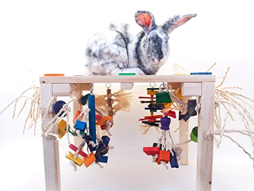 X-large Activity Zone Rabbit Toy by Timali Pet Rabbit Toys
