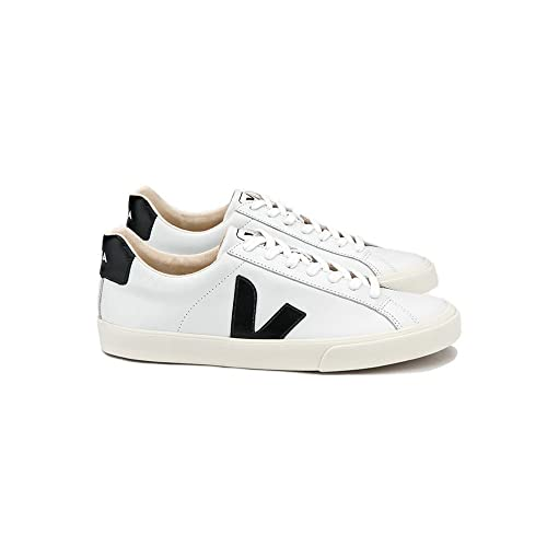 Veja - EOM020005 - Sneaker da Uomo Modello Esplar Low Logo Leather Extra  White Black  Amazon.it  Scarpe e borse aaed410e5d2