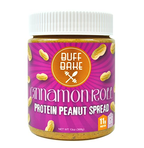 Cinnamon Raisin Roll - Buff Bake, Spread Peanut Butter Cinnmon Raisin, 13 Ounce