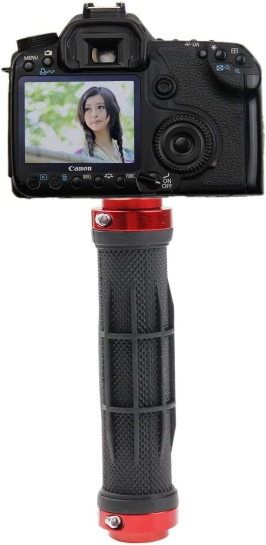 Camera Handheld Monopod Handle Hand Grip Tripod Ball Head for SLR DSLR
