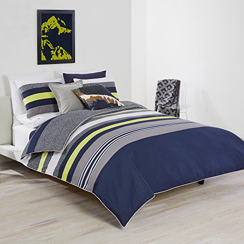 Lacoste Tigne Comforter Set, Twin/Twin Extra Long