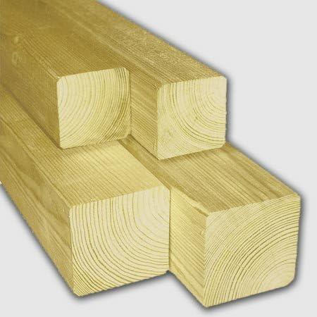 meingartenversand.de Holzpfosten//Zaunpf/ähle Zaunpfeiler aus Holz 9 x 9 x 180 cm allseitig gehobelt aus Kiefer druckimpr/ägniert
