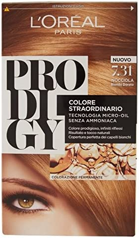 L Oréal Paris Prodigy coloración Permanente 7.31 avellana ...