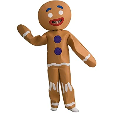 shrek gingy gingerbread man halloween costume child size large