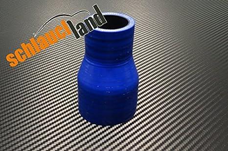 Silikon-Reduzierst/ück ID 57-45mm blau*** Silikonschlauch Reduzierer Silikon Reduzierung LLK