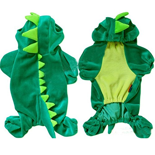 [New Fashionable Dog Clothes For Extra Small,Small,Large,Extra Large Dogs Shirt Cosplay Dinosaur Cute Indoor Pet For Spring] (Tumblr Pugs In Costumes)
