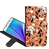 Samsung Galaxy S7 Edge Case, Pikachu Pokemon PU Leather Folio Flip Wallet Case Cover with ID Credit Card Holder with Stand for Samsung Galaxy S7 Edge + Thewart_Eight® Stylus Pen (#036)