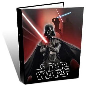 Star Wars Darth Vader rígida de 2 anillas Escuela Uni College: Amazon.es: Oficina y papelería
