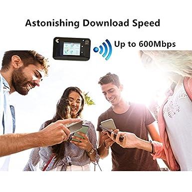 Amazon com: Netgear Aircard 810S (AC810S) Unlocked 4G Mobile Wi-Fi