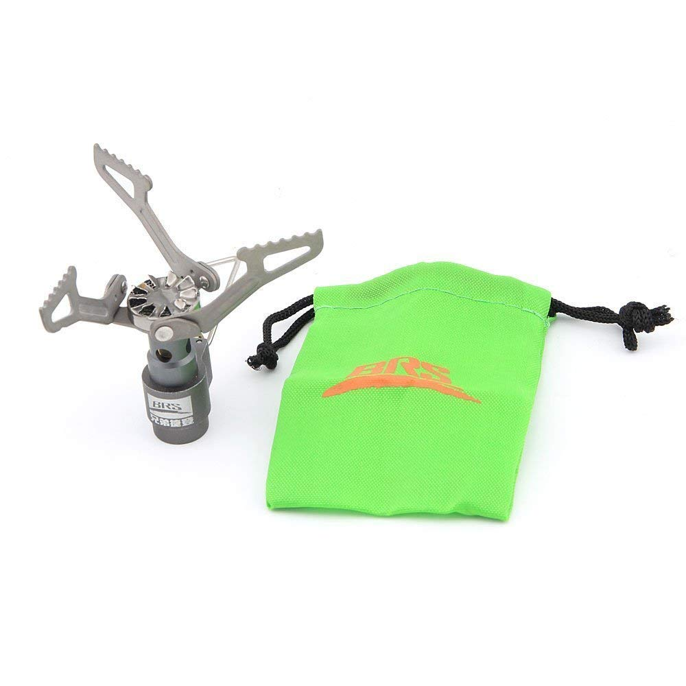 BRS Ultralight Camping Gas Stove Outdoor Burner Cooking Stove 25g