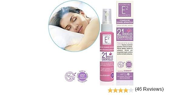 E2 Complejo para sueño reparador con 21 aceites esenciales 100 ...