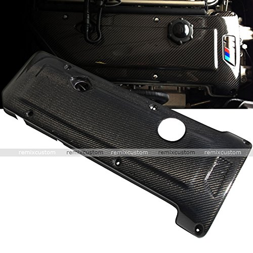 - Remix Custom Engine Cover For 99-06 BMW E46 M3 3 Series Carbon Fiber Engine Cover