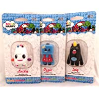 SanDisk SoSo Happy 8GB USB Flash Drives 3-Pack) SIQ, OZZIE, AND LUCKY