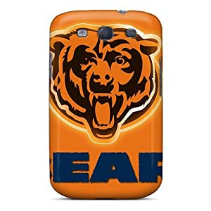 Elaney Premium Protective Hard Case For Galaxy S3- Nice Design - Chicago Bears by mcsharks
