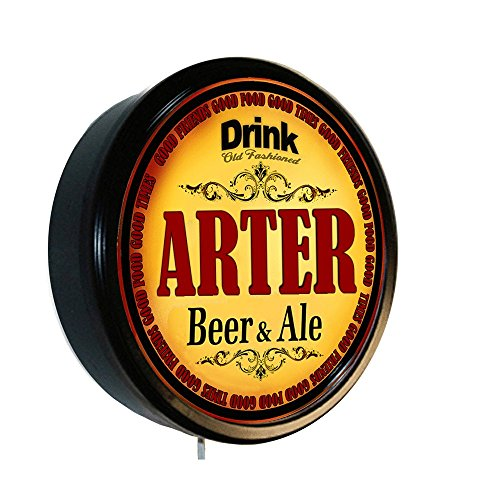 ARTER Beer and Ale Cerveza Lighted Wall Sign ()