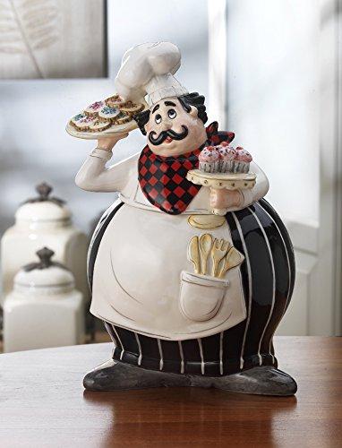 American Atelier Buon Appetito Chef Cookie Jar