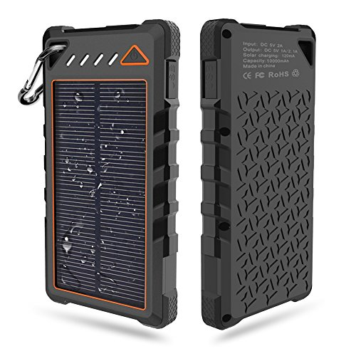 Travel Solar Battery Charger - 4
