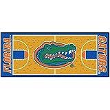 Fanmats NCAA University of Florida Gators Nylon Face Basketball Court Runner