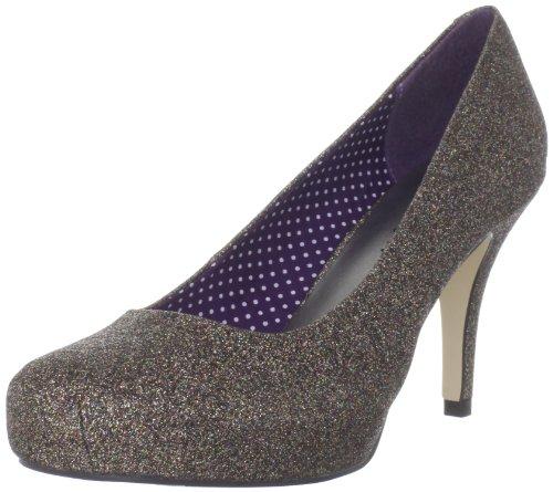 De Para Madden Beige Zapatos Vestir Getta Mujer Sintético Brillante Girl qnYYt4rO
