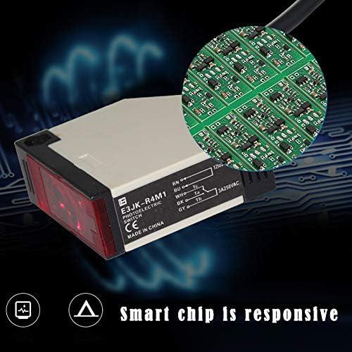Photoelectric Switch-Mirror Reflection Photoelectric AC 90-250V 3A E3JK-R4M1 Sensor Switch