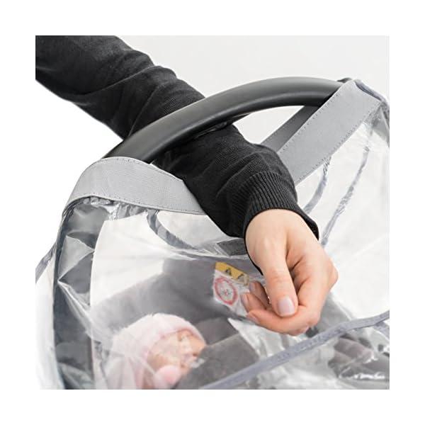Parapioggia universale comfort per ovetto e seggiolino auto (p. es. Inglesina, Bébé Confort) - buona circolazione dell… 5