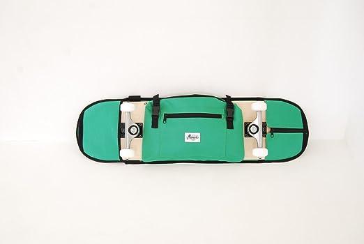 Perchero de Skate y Mochila para el monopatín, Verde de 7.5 ...