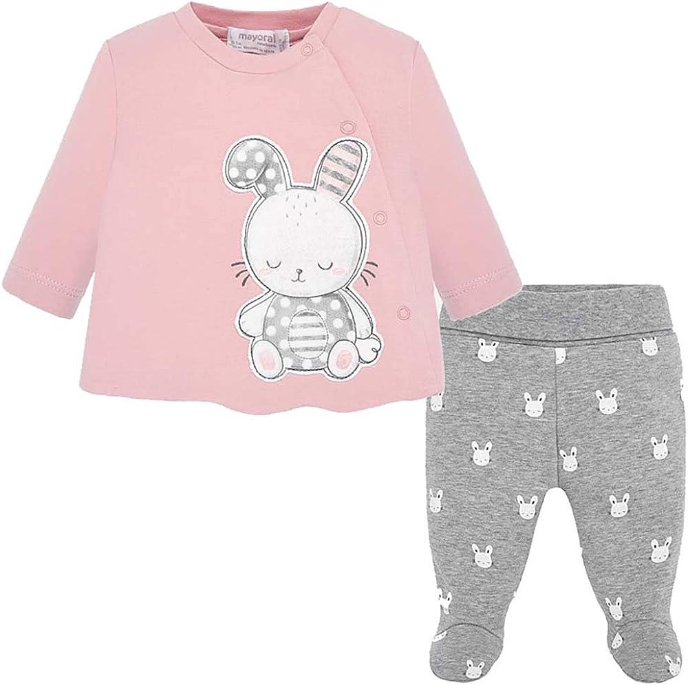 Magnolia Baby Baby Girls Sweet Bunny Applique Hat Pink