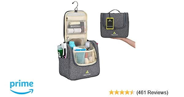 317bece74ca8 Amazon.com   Travel Hanging Toiletry Bag by Hikenture