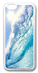 iPhone 6 Cases, Nice Wave To Surf Custom Design TPU Case Cover for Apple iPhone 6 with 4.7 inch Screen TPU Transparent