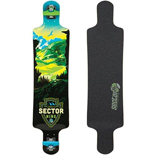 Sector 9 Faultline Deck Skateboard, Green