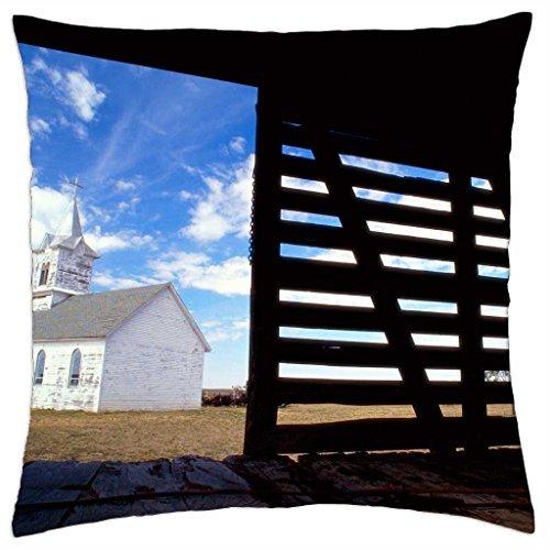 Dakota del Sur Iglesia 1880 - Funda de almohada manta (18