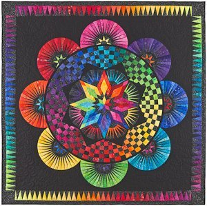 Quilt patterns BC001 BeColourful Pattern (Lone Star Quilt Pattern)