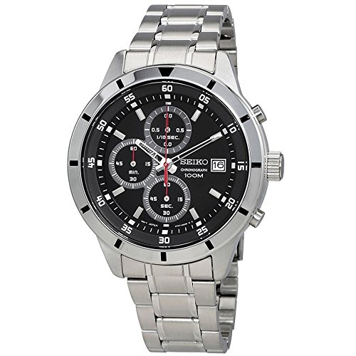 Seiko-Chronograph-Black-Dial-Mens-Watch-SKS561