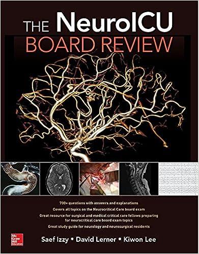 The NeuroICU Board Review 9781260011005 Medicine Health