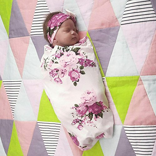 ANBOO Newborn Baby Swaddle Bamboo Fiber Blanket Sleeping Swaddle Muslin Wrap Yellow