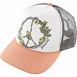 O'Neill Little Girls Pineapple Peace Adjustable Hats One Size Cantalope