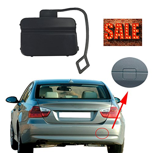 Free2choose Rear Bumper Tow Hook Cover Cap For BMW 3-Series E90 SALOON 2005 2006 2007 2008