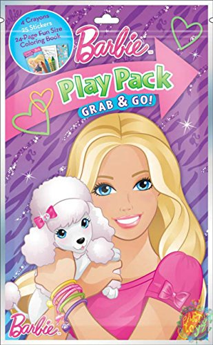 Play Barbie Crayons Stickers Coloring
